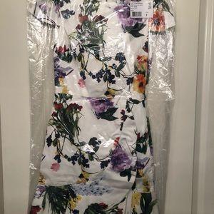 Alice + Olivia Dresses - Alice and Olivia Floral Dress